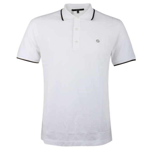 75db45c6 Gucci Shirts | White Tshirt Mens Polo 2xl | Poshmark